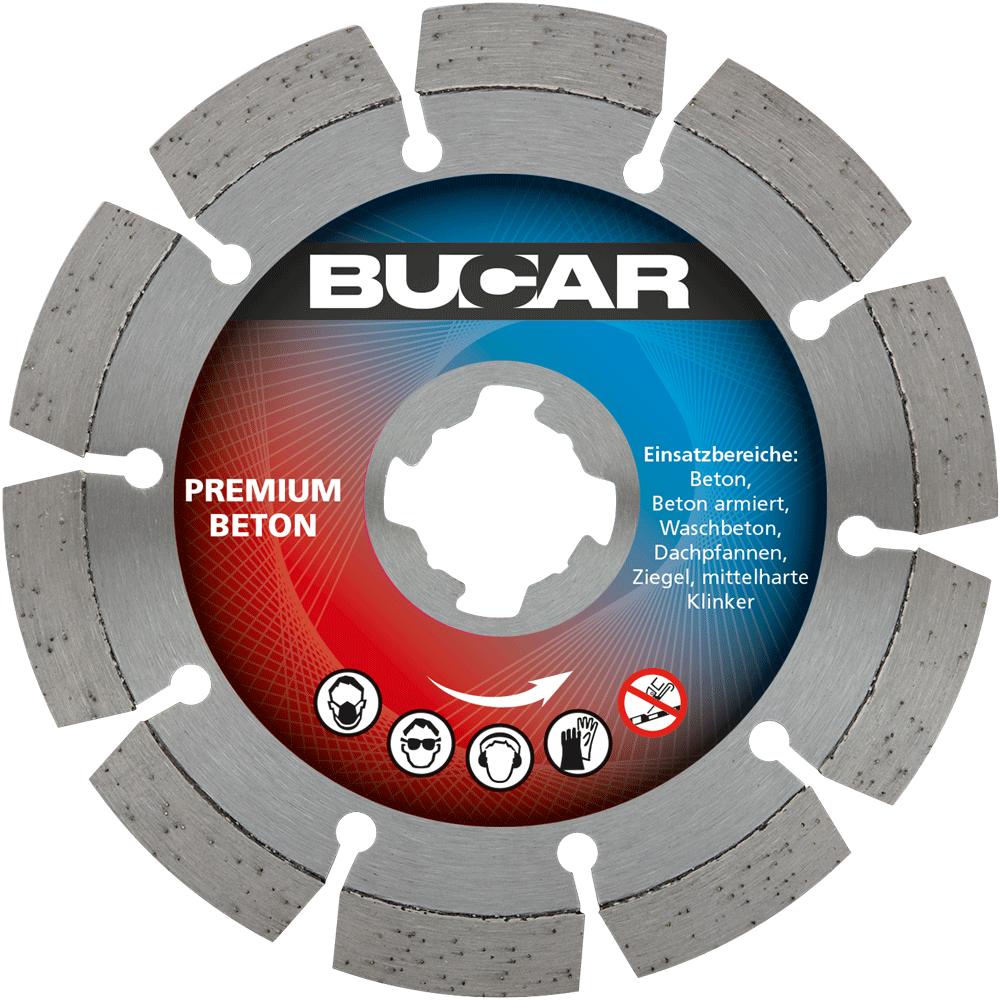 X-LOCK® - Premium Beton - Ø 115 mm