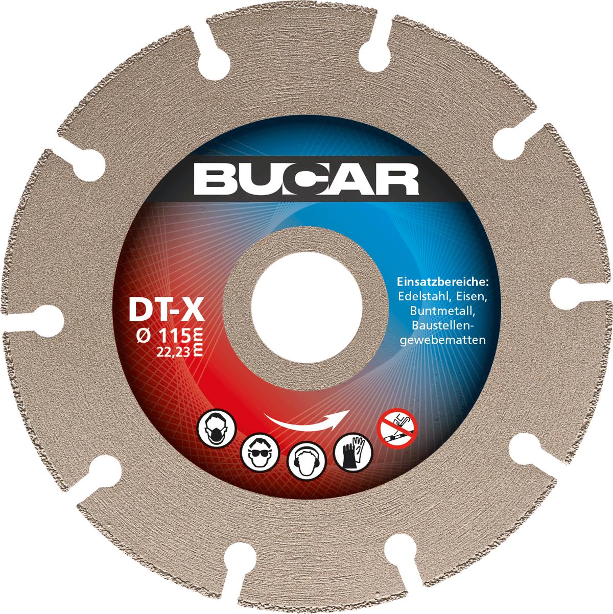 DT-X - Ø 115 mm